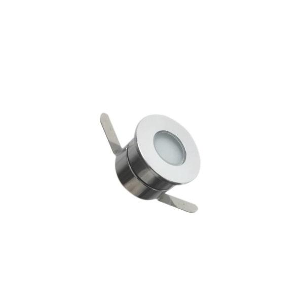Faretto LED 1W 12v calpestabile IP65