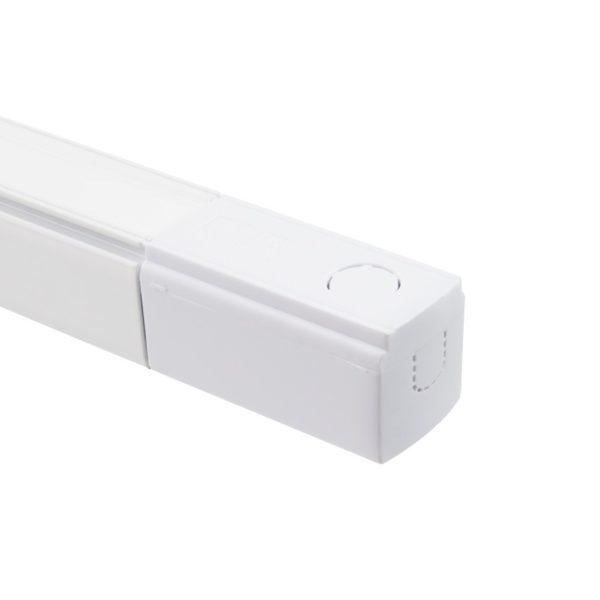 Binario Trifase per Faro LED da 1 metro Bianco o Nero