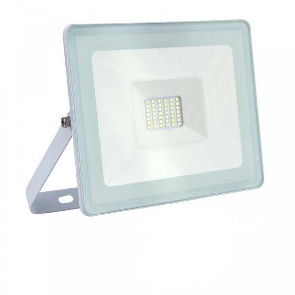 Faro LED Slim 10W IP65 White Professional Luce Fredda