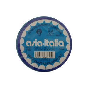 Asia-Italia Nastro isolante blu 19mm x 25m 338471925BL