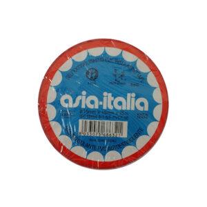 Asia-Italia Nastro isolante rosso 19mm x 25m 338471925RO