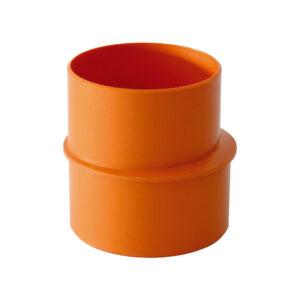 Aumento MF Ø 50mm - Ø 80mm PVC Arancio