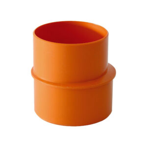 Aumento MF Ø 63mm - Ø 80mm PVC Arancio