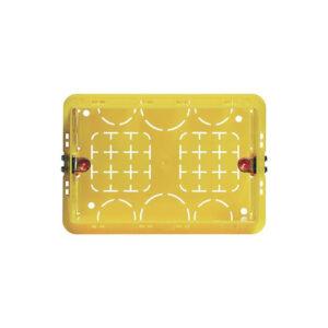 Bticino scatola rettangolare 3 moduli da incasso moduli 503E