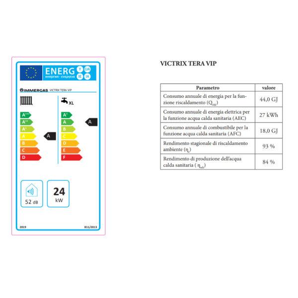 Caldaia a condensazione Victrix Tera VIP 28 METANO Immergas