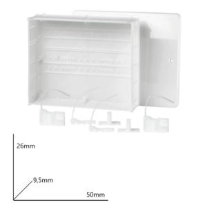 Cassetta per collettori con fondo 50x26x9.5 Arteclima