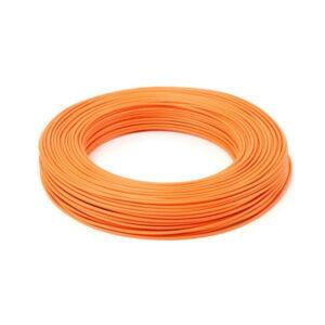 Cavo cordina unipolare 1,5mmq arancio FS17