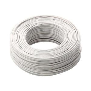 Cavo cordina unipolare 1,5mmq bianco FS17