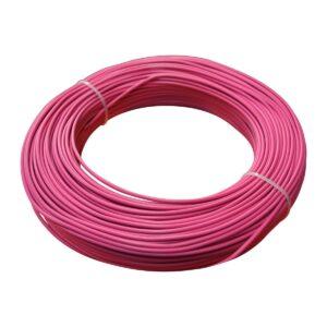 Cavo cordina unipolare 1,5mmq rosa FS17
