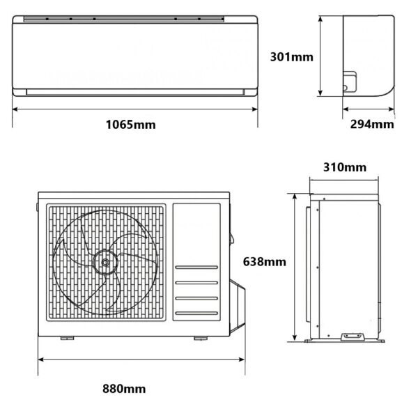 Climatizzatore Samsung Inverter AR6500M 18000 btu A++