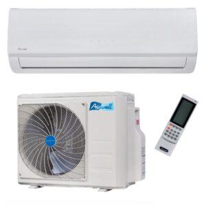 Climatizzatore condizionatore inverter 9000 Btu HKD AIRWELL A++A+ - ambientato