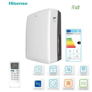 Condizionatore deumidificatore portatile AP12 HISENSE