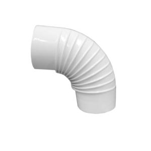 Curva 90° smaltata Ø110 bianca