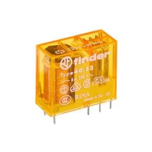 Finder Relè circuito stampato 12V 8A AC 40.52.8.012.0000