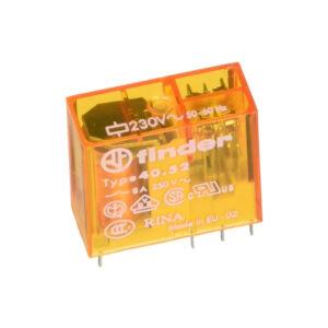 Finder Relè circuito stampato 230V AC 8A 40.52.8.230.0000