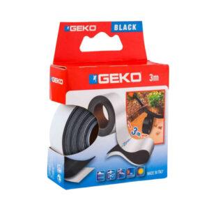 Geko 16000 nastro adesivo autoagglomerante Nero 25 mm x 3 m
