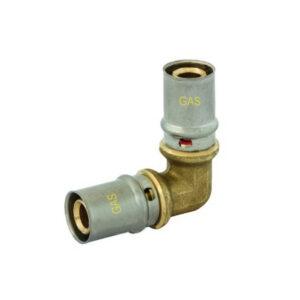 Gomito 90° Intermedio 16 – 16mm GAS