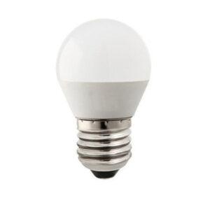 Lampadina LED E27 7W a sfera bianco caldo