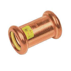 Manicotto FF Con Battuta 15mm Pressare Gas