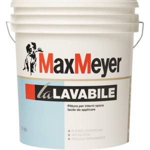 Pittura murale la Lavabile bianca per interni MaxMeyer