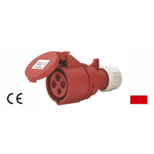 Presa mobile industriale 3P+T 16A trifase IP44