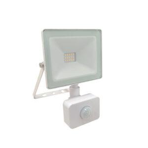 Proiettore LED 10W con sensore di movimento bianco freddo