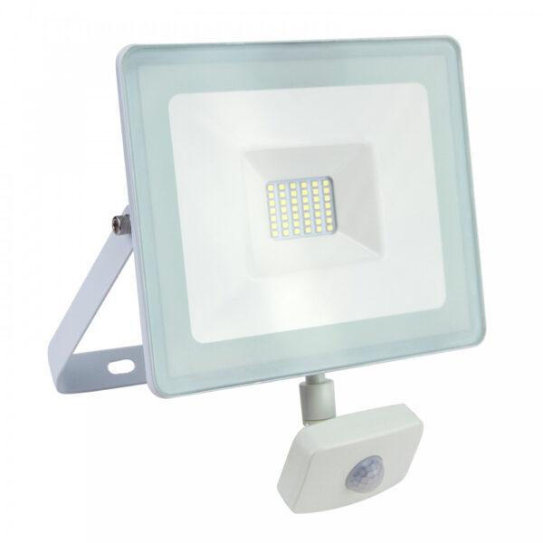 Proiettore LED 20W Luce Naturale Con Sensore Di Movimento