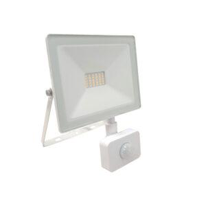 Proiettore LED 20W con sensore di movimento bianco naturale