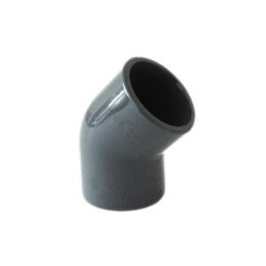 Raccordo A Gomito 45° In PVC Da Incollaggio Ø63mm