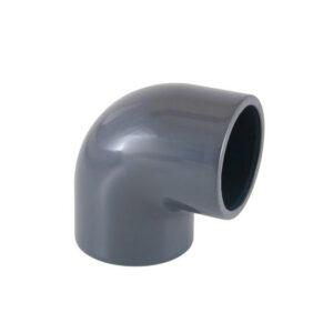 Raccordo A Gomito 90° In PVC Da Incollaggio Ø63mm