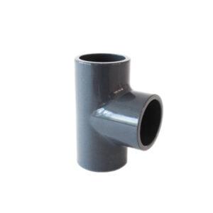 Raccordo a T in PVC da incollaggio Ø50mm