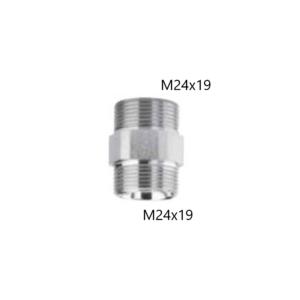 Raccordo diritto Doppio M24x19 Arteclima