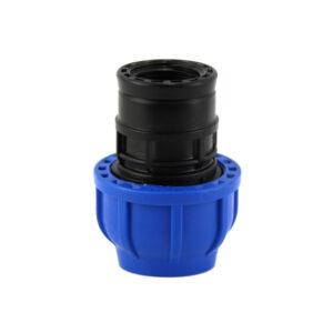 Raccordo dritto a compressione femmina 32mm - 1 PN16