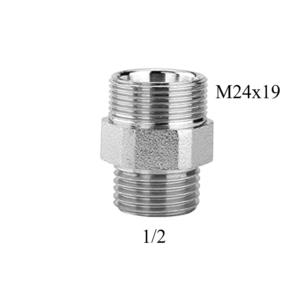 Raccordo maschio 1 2 con attacco M24X19 Arteclima
