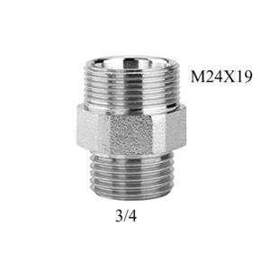 Raccordo maschio 3_4 con attacco M24X19 Arteclima