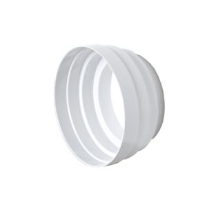 Riduzione concentrica per cappa Ø100x125