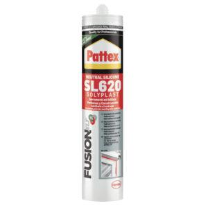 Sigillante Siliconico SL620 Pattex 300ml Grigio