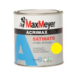 Smalto all'acqua Mini Acrimax Giallo Limone 0.37Litri MaxMeyer