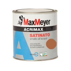 Smalto all'acqua Mini Acrimax Marrone 0.37Litri MaxMeyer