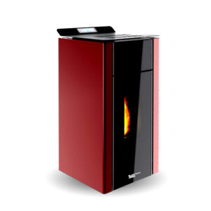 Stufa A Pellet VERONICA 11 AIR Laminox ROSSA 11 KW