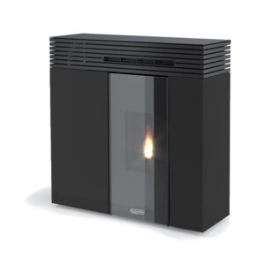 Stufa A Pellet VERONICA GHOST Laminox NERA 10,5 KW