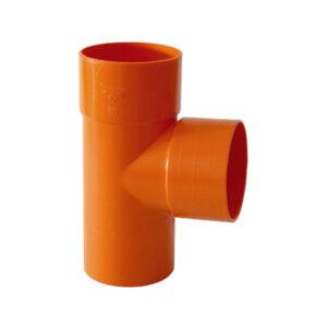 Tes MFF 87° Ø 50mm PVC Arancio