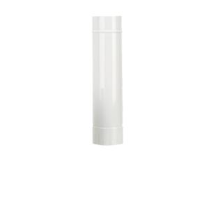 Tubo smaltato bianco Ø110 da 50cm