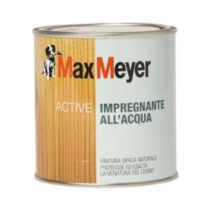 Vernice impregnante all'acqua per legno Active MaxMeyer