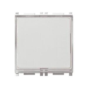 Vimar Plana pulsante con targhetta bianco 14050