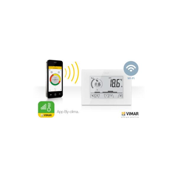 Vimar cronotermostato touch screen WIFi 02911