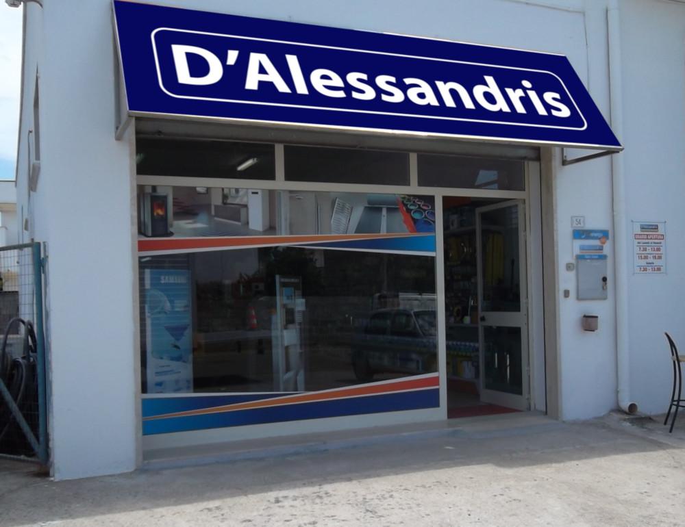 dalessandris andrano - negozio di termoidraulica, elettricità e ferramenta