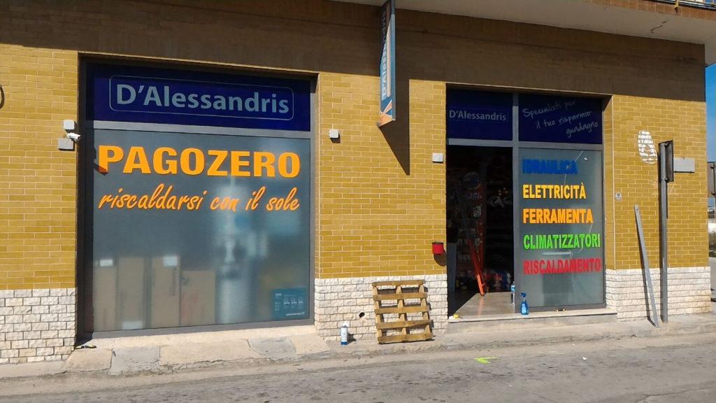 dalessandris corsano - negozio di termoidraulica, elettricità e ferramenta