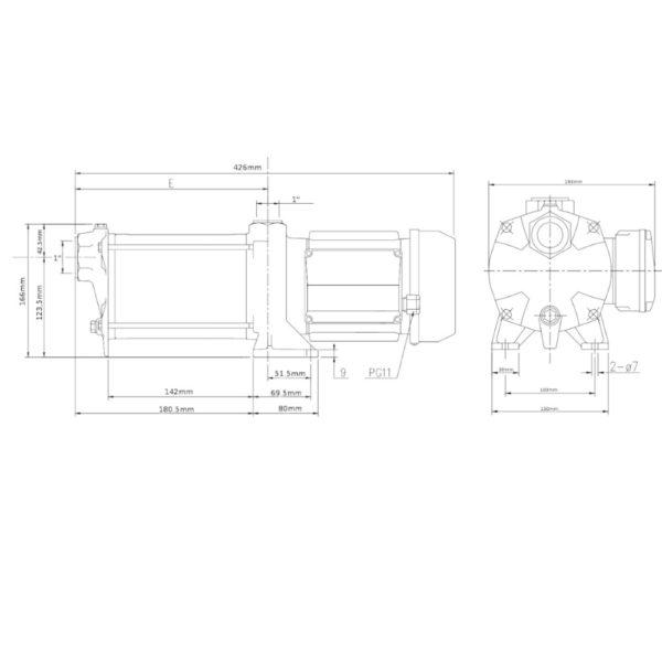 Elettropompa EBARA compact AM/10 – 1 HP multigirante