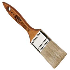 pennellessa bionda manico legno turchese